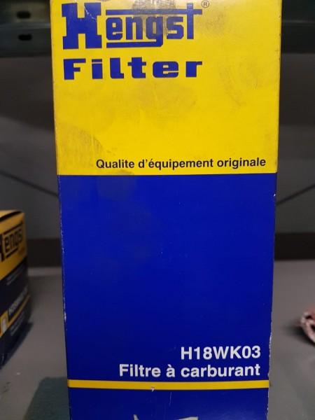 Kraftstofffilter Hengst | H18WK03