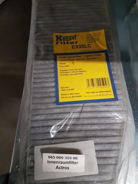 Innenraumfilter Aktivkohle Hengst | E930L (Actros)